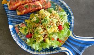 Saltimbocca de saumon et pommes de terre gremolata de Lorraine Pascale