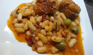 Boles de picoulat - Boulettes de viande à la catalane d'Eliane Thibaut-Comelade