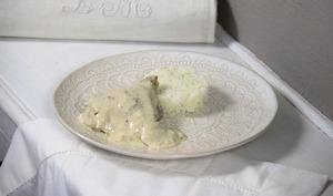 Poulet de Bresse à la crème