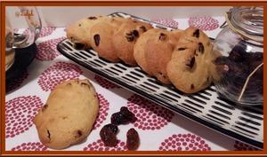 Mini-palets aux raisins