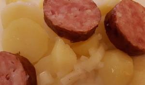 Saucisse de Morteau aux pommes de terre
