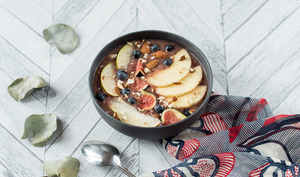 Smoothie bowl de fin d'automne