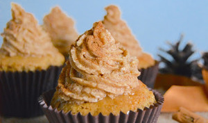 Vanilla chaï cupcakes