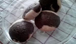 Muffins choco vanille