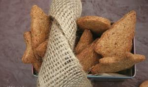 Biscuits de Noël croustillants à l'huile de coco