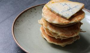 Pancakes salés à la Fourme de Montbrison