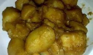 Pommes de terre paysannes.