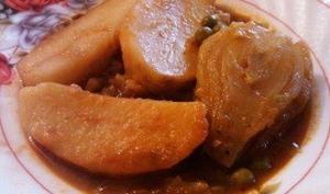 Potée de fenouils et pommes de terre