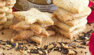 Biscuits au thé de Noël