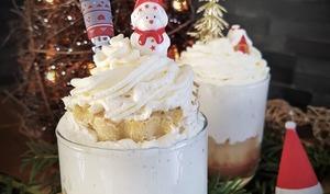 Petit baba de Noël poire chocolat
