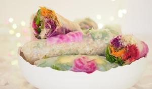 Rouleaux végétariens au quinoa