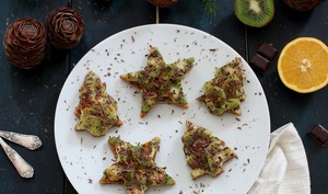 Tartelettes kiwi, chocolat, orange
