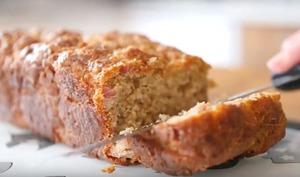 Cake au Comté et aux lardons fumés du Haut-Doubs