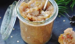 Compotée d'oignons au cidre et aux épices douces