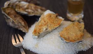 Gratin d'huîtres à la charentaise