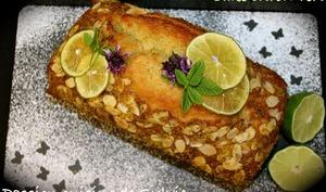 Cake au citron vert et au rhum