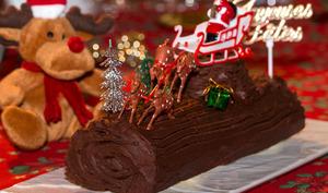 Bûche d'Antan aux épices de Noël