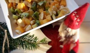 Salade de fruits exotiques au sirop d'érable