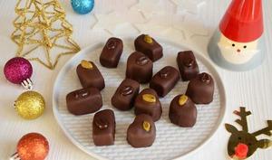 Chocolats pâte d'amande