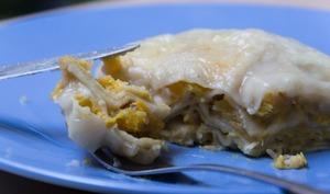 Lasagnes à la courge et mozzarella