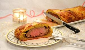 Bœuf en croûte de brioche épicée