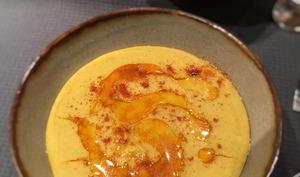 Bissara ou soupe purée de pois cassé à la marocaine