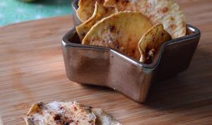 Chips de pomme à la cannelle