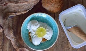Glace au lait de coco & citron vert
