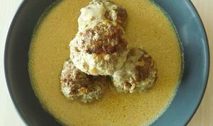 Boulettes de boeuf au lait de coco