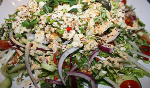 Laab Kai Salade de poulet thaï