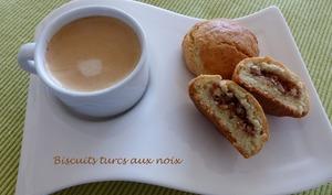 Biscuits turcs aux noix