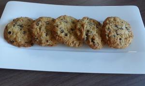 Maxi cookies noix-chocolat