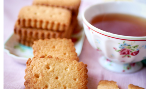 Petits biscuits à la bergamote