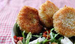 Croquettes pommes de terre et jambon