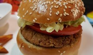 Hamburgers 100% végétal