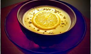 Véloutée de chou-fleur citron et sésame