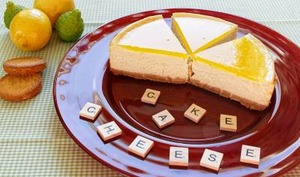 Cheesecake citron palets bretons