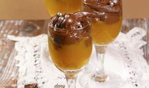 Ganache chocolat à l'orange