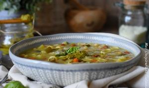 La soupe de pistou provençale