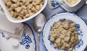 Gnocchi à la sauce aux truffes