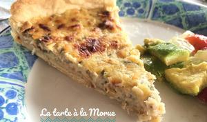 La tarte à la morue salée made in Martinique