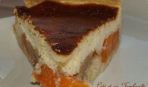 Tarte à la faisselle abricots et spéculoos