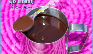 Sauce au chocolat de Pierre Hermé