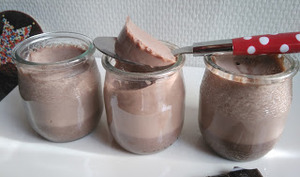 Les Flans au chocolat de mamie