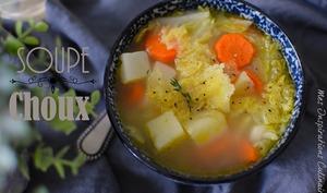 Soupe au chou detox