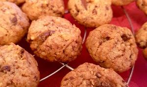 Cookies noix chocolat : Nusshiffele - bredeles