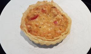 Tarte provençale thon-féta