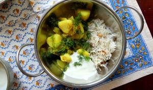 Curry de pommes de terre