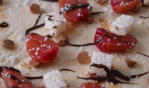 Tortilla Fraise, Coco et Chocolat