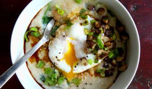 Porridge salé